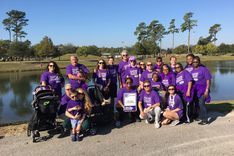 $55,037 Raised for Alzheimer's by Senior Living Communities and Wellmore